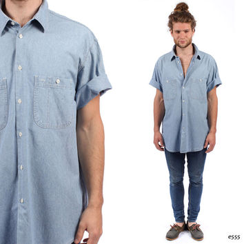 Shop Boyfriend Chambray on Wanelo