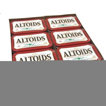 Altoids Mints, Cinnamon 1.76 oz 12 Tins: Case of 12