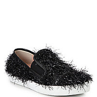 Boutique Moschino - Tinsel Skate Shoes - Saks Fifth Avenue Mobile