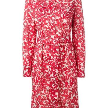 DCCKIN3 Tory Burch floral print shirt dress