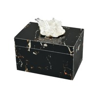 Czarina Decorative Box Marble,White Stone