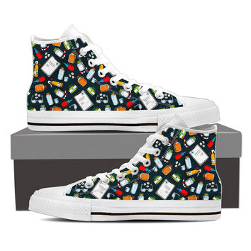 Pharmacist Pattern Shoes
