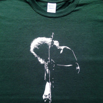 Jerry Garcia Silhouette T Shirt Gildan Ultra cotton - Grateful Dead shirt