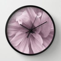 Wrapture Wall Clock by Art by Mel | Society6