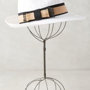Beaulieu Fedora by Anthropologie in White Size: One Size Hats