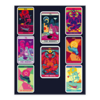 TAROT CARD STICKER