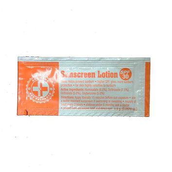 100 Sunscreen Lotion Packets