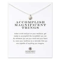 Women's Necklace-Dogeared-Accomplish Magnificent Things