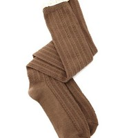 Crochet Trim Over-the-Knee Sock: Charlotte Russe