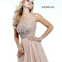 Sherri Hill 11034 Short Sequin Homecoming Dress