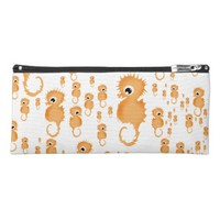 Seahorses Pattern Pencil Case