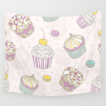 Sweets Galore! Wall Tapestry by All Is One