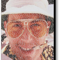 Fear and Loathing in Las Vegas Johnny Depp Raoul Duke Script Dialog Quotes Mosaic INCREDIBLE