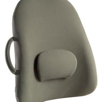 Complete Medical Lowback Backrest Support Obusforme Gray  (Bagged)