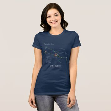 Constellation TAURUS unique, elegant T-Shirt
