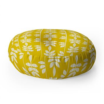Heather Dutton Abadi Sunburst Floor Pillow Round