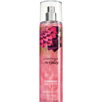 A Thousand Wishes Diamond Shimmer Mist - Signature Collection | Bath And Body Works