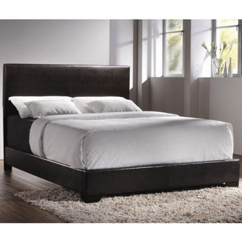 Upholstered Beds Contemporary Queen Upholstered Low-Profile Bed