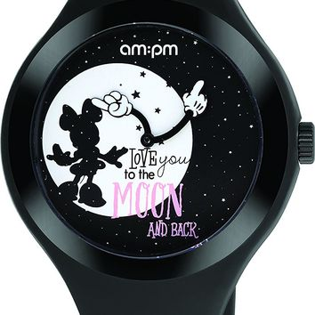 Disney Minnie Mouse To the Moon and Back Women's Watch DP155-U348 by AM:PM