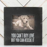 Rescued Love Picture Frame - Frames - Gifts/Home Decor