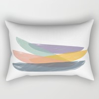 Abstract color balance Rectangular Pillow by Indiepeek | Marta