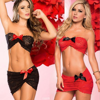 Cute On Sale Hot Deal Sexy Plus Size Lace Costume Exotic Lingerie [6595474755]