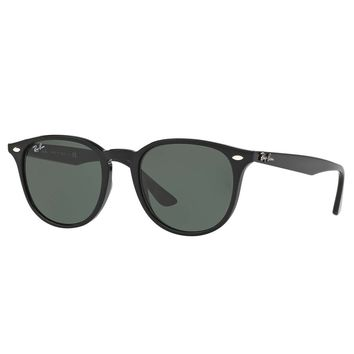 Ray-Ban Men's Square Injected Sunglasses, Black