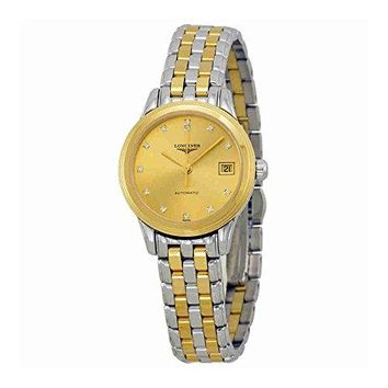 Longines La Grande Classique Two Tone Stainless Steel Ladies Watch L42743377