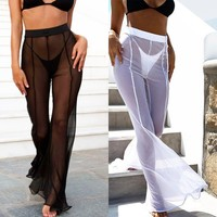 2018 Women's Sexy High Waist Trousers
