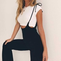 When in Rome Half Waist Jumpsuit