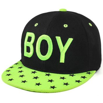 Boy & Stars - Embroidered Cute, Graphic, Cool Baseball Cap - Sports & Leisure Hat
