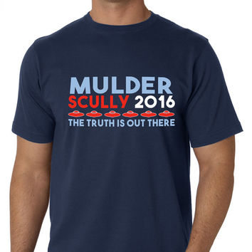 Mulder & Scully 2016 - Election Shirt