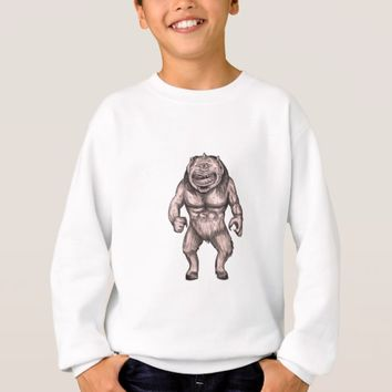 Cyclops Standing Tattoo Sweatshirt