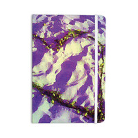 "Anne LaBrie ""Purple Tiger Love"" Purple Yellow Everything Notebook"