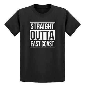 Youth Straight Outta East Coast Kids T-shirt