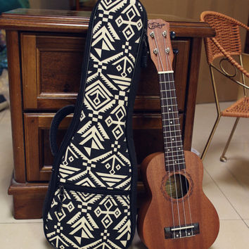 Padded Ukulele Cases for Tenor Ukulele -Customize Design from the buyer
