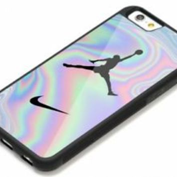 New Air Jordan Nike Pastel iPhone 6 6s 7 8 Plus Hard Plastic Protect Case