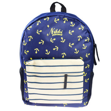 Nautical Anchor Canvas Backpack: SAVE $6 TODAY