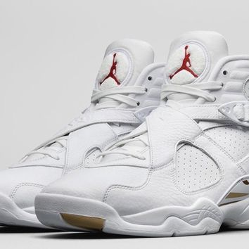 HCXX Air Jordan VIII OVO White