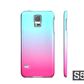 Pink & Blue Cotton Candy Ombre - Premium Slim Fit Galaxy S5 S4 S3 Case - Also Available For iPhone 5S 5 4S 4