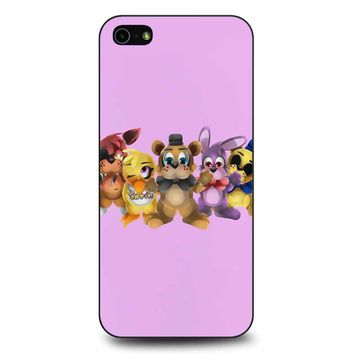 Five Nights Of Kawaii Chibi iPhone 5/5s/SE Case