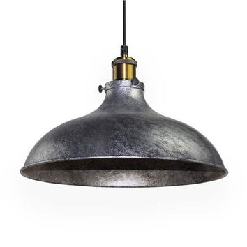 LNC Gray Dome Hanging Pendant Lighting