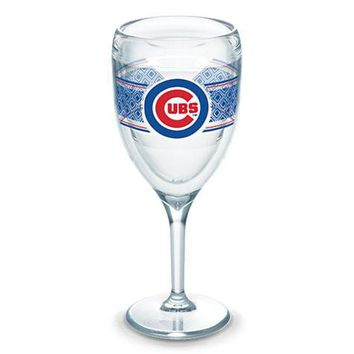 Chicago Cubs Stemmed Wine Glass Select Wrap, Tervis
