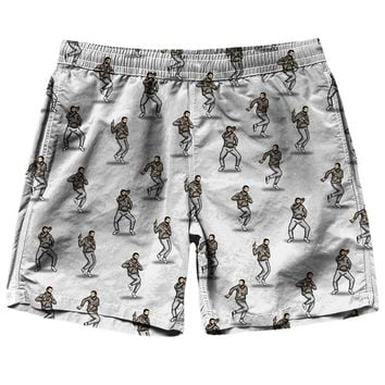 Drake Keke Pattern Shorts