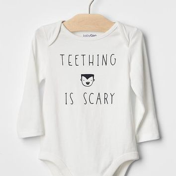 Gap Baby Halloween Statement Bodysuit
