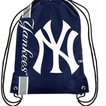 Drawstring Backpack - New York Yankees