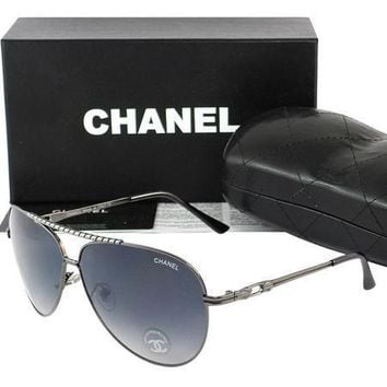 One-nice™ Chanel Women Casual Sun Shades Eyeglasses Glasses Sunglasses