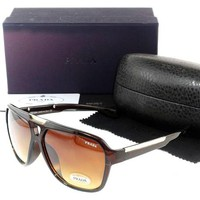 Prada Women Casual Sun Shades Eyeglasses Glasses Sunglasses