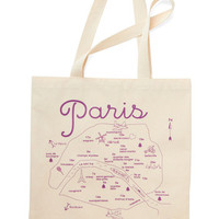 ModCloth French Place To Be Tote in France