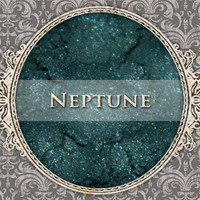 NEPTUNE Mineral Eyeshadow: 5g Sifter Jar, Dark Teal Green, Vegan Cosmetics, Shimmer Eyeshadow